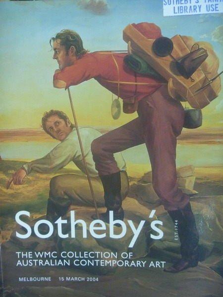 【書寶二手書T3/收藏_PPU】Sothebys_2004/3/15_The WMC Collection of…