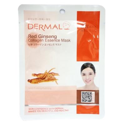 韓國 DERMAL 紅蔘調理補濕面膜 K346