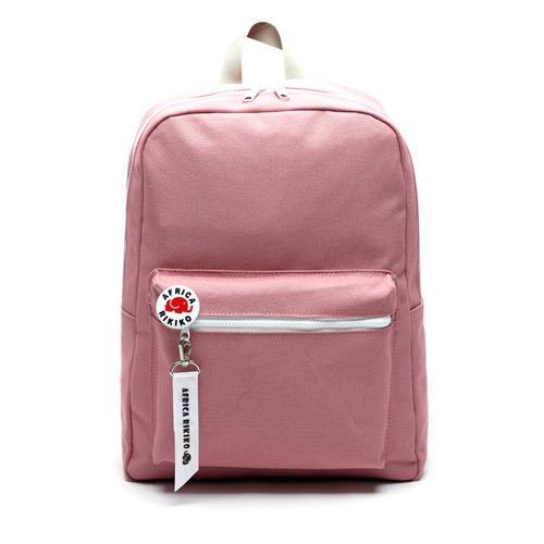 後背包 韓國品牌 AFRICA RIKIKO 馬卡龍色後背包 NO.118핑크(Pink) - 包包阿者西