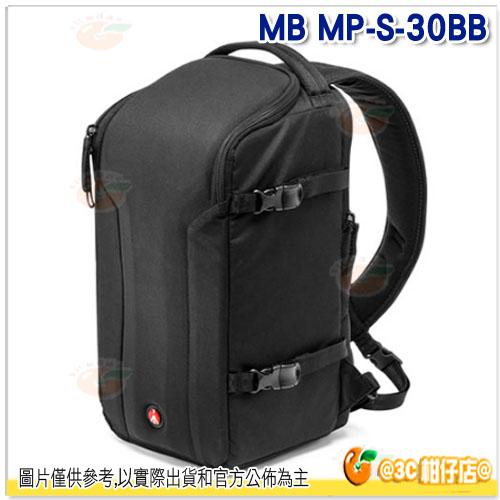分期0利率 Manfrotto 曼富圖 MB MP-S-30BB 大師級彈弓手後背包 30 正成公司貨 SLING 30 登機包 相機包 攝影包