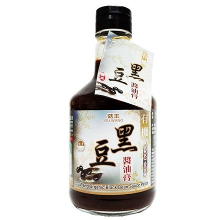菇王 有機黑豆醬油膏 300ml/瓶 原價$200 特價$185