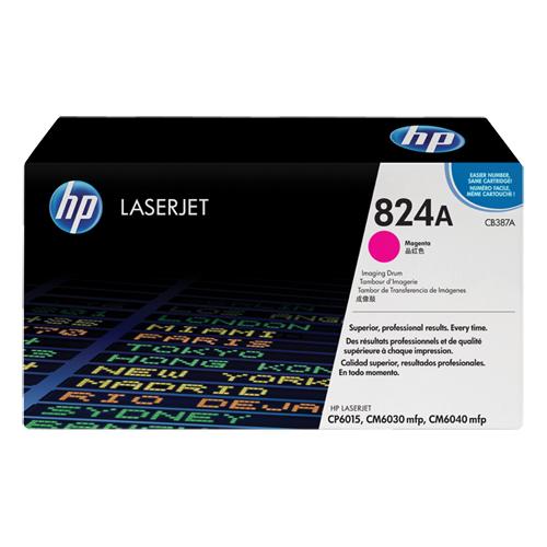 【限量特賣】HP 原廠紅色感光鼓 CB387A 適用 HP Color LaserJet CP6015
