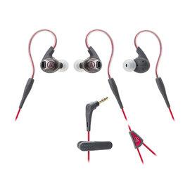 鐵三角 audio-technica ATH-SPORT3 紅色 運動型耳塞式耳機 (鐵三角公司貨)