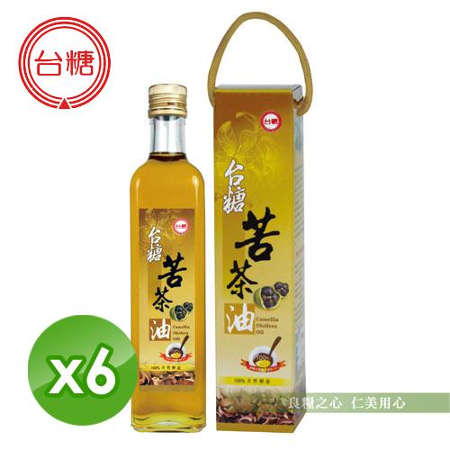 台糖 苦茶油(500ml/瓶)x6_免運