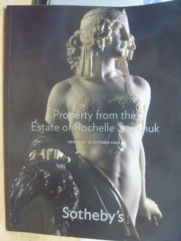 【書寶二手書T9/收藏_YIK】Sothebys_NEW YORK_PROPERTY FROM THE ESTATE等