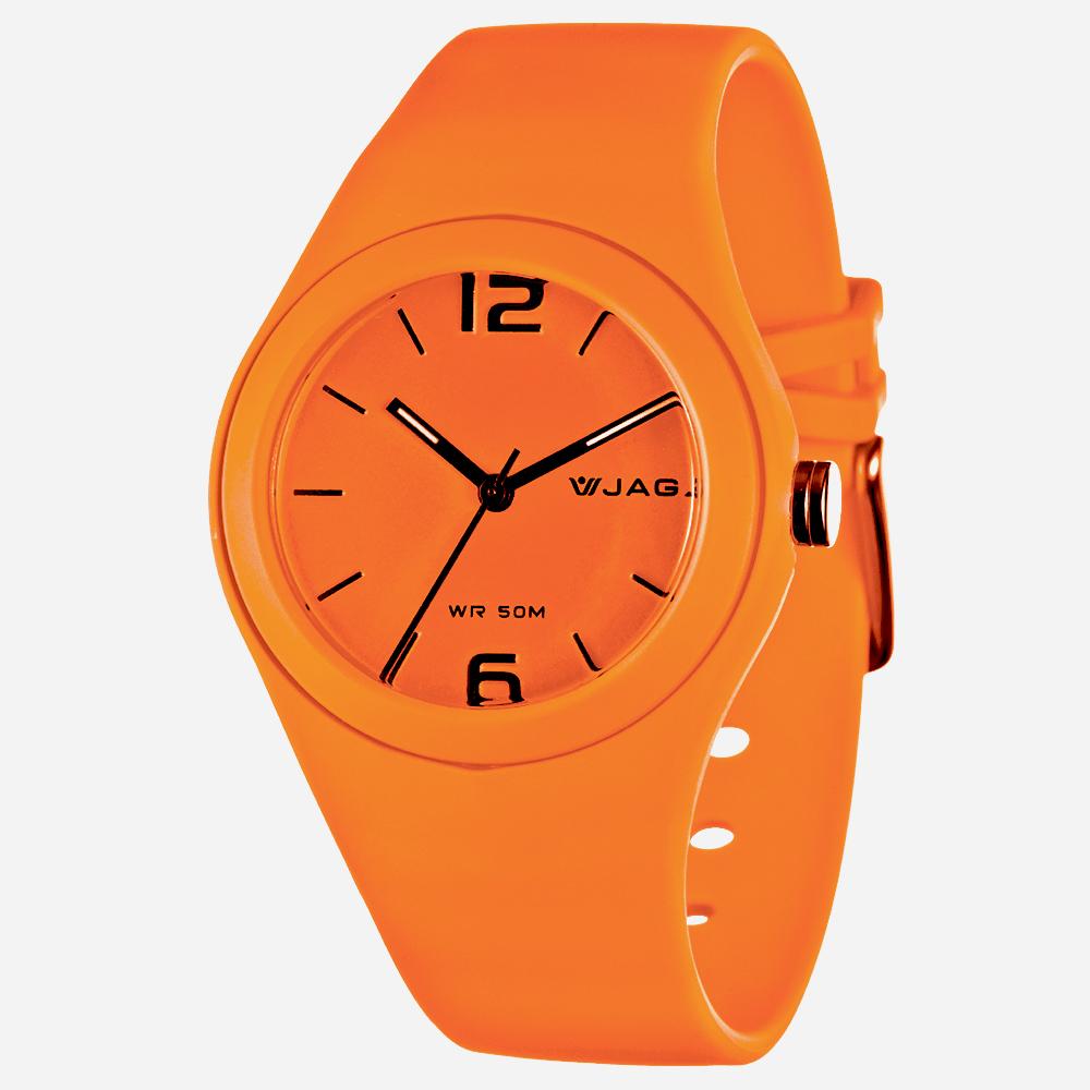 JAGA 捷卡 AQ911 馬卡龍螢光系列指針錶