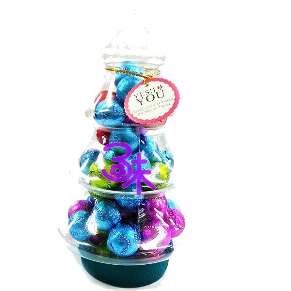 (馬來西亞) 金瑞祥 聖誕樹巧克力-棒球 1組 3罐 1罐 220 公克 特價 285 元 平均一罐 95 元【 4714388000656 】耶誕節糖果 聖誕節小禮物 幼稚園聖誕節禮物 大量批發