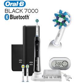 德國百靈Oral-B P7000 B/尊爵黑 藍芽白金電動牙刷  ★105/12/31前加價購兒童牙刷D10$1990~