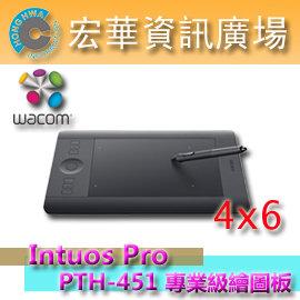 Wacom Intuos Pro Small PTH-451/K0-C 專業級數位繪圖板 公司貨