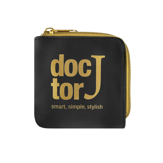 DoctorJ 方型零錢包 金