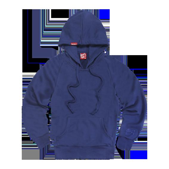 DoctorJ 素面帽T 藍色 (男/女款皆有)