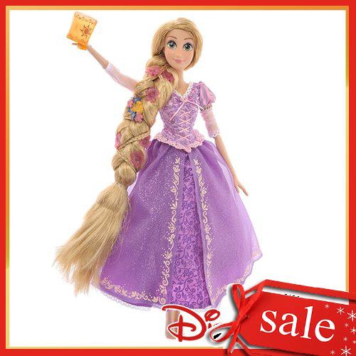 【真愛日本】16120400017專賣店豪華公主-長髮公主    迪士尼 魔髮奇緣 Tangled 公仔 芭比 洋娃娃 玩具 聖誕節 交換禮物 聖誕市集