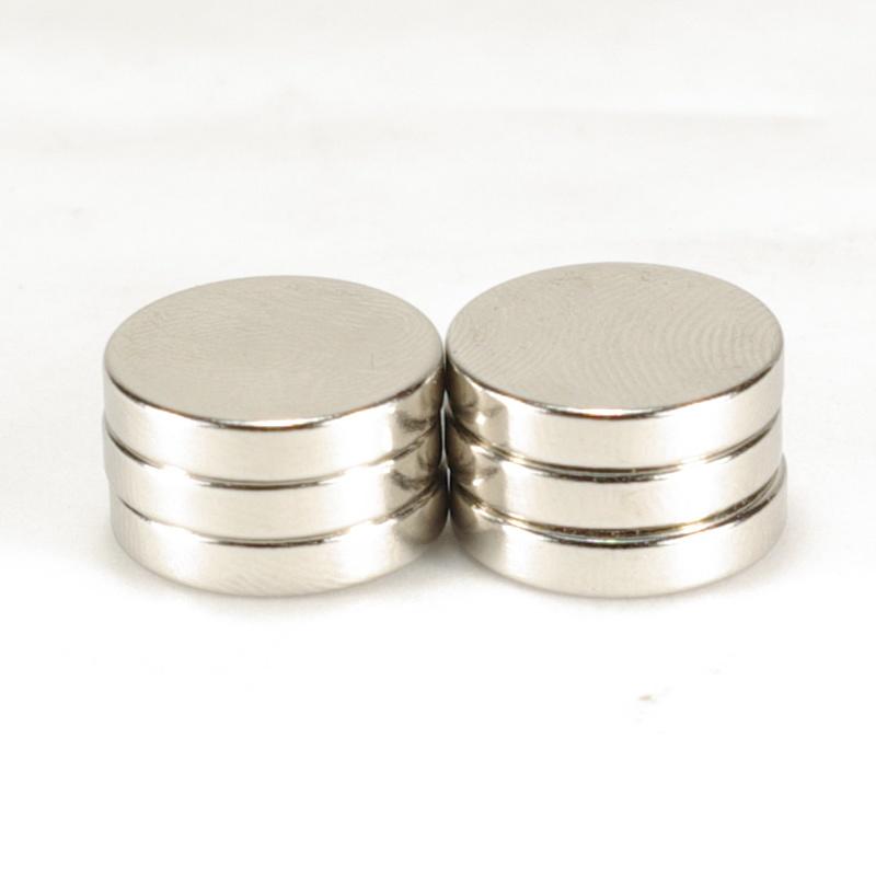 強力磁鐵釹鐵硼 圓直徑1.5公分*厚 0.3公分 6個
