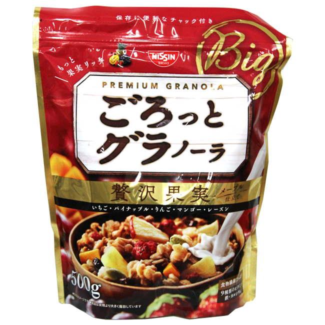 日清大袋水果麥片500g
