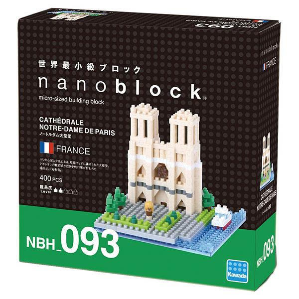 《 Nano Block 迷你積木 》NBH - 093 巴黎聖母院