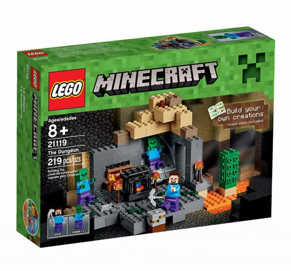 【LEGO 樂高積木】Minecraft 創世神系列 - The Dungeon LT-21119