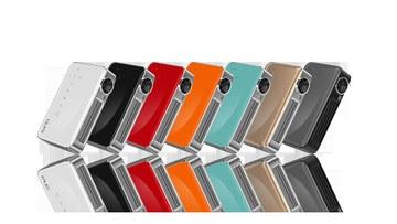 Vivitek QUMI Q6 便攜式迷你投影機 金 黑 白 紅 橘 藍 消光黑(灰) 七色款