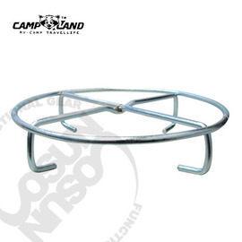 【速捷戶外露營】【CAMP-LAND】RV-IRON015鍋底炭床鍋架.鑄鐵鍋置鍋架.荷蘭鍋疊鍋架20cm