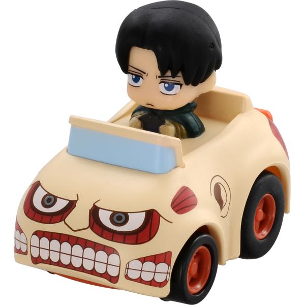 【真愛日本】15061700002 阿Q車MIX-進擊巨人10 進擊的巨人 進撃の巨人 玩具 小車 兵長 里維 正品 限量 預購