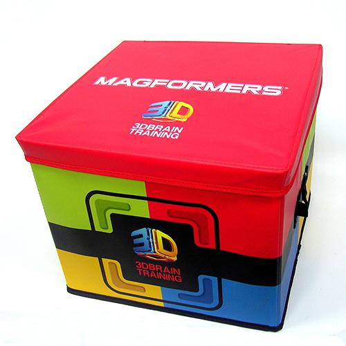 【韓國 Magformers 磁性建構片】磁片專用收納箱 Red Box ACT05912