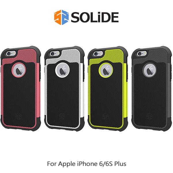 【愛瘋潮】SOLiDE Apple iPhone 6S / 6S Plus ZEUS 宙斯防摔殼 保護殼 菱格紋 減震 手機殼