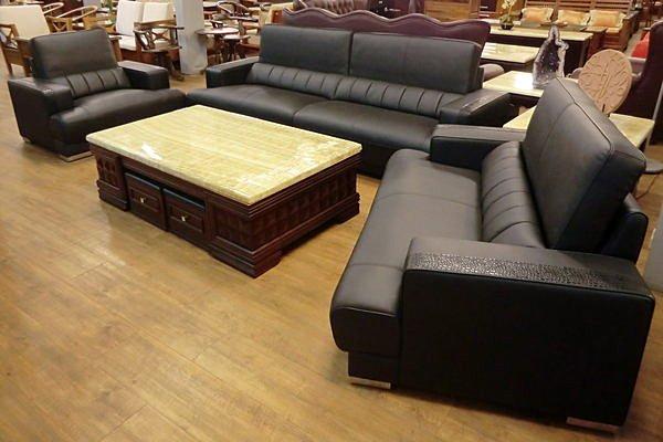 【尚品傢俱】670-05 半牛皮功能型沙發組~《台灣精品》~請來電洽詢優惠價