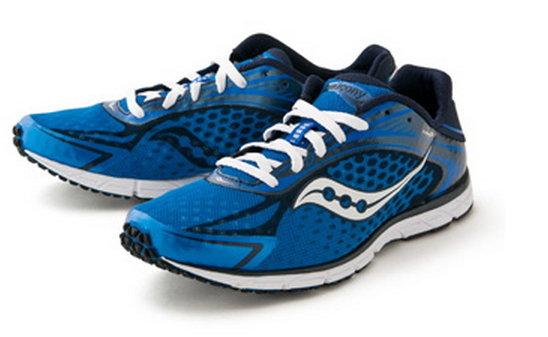 [特價]SAUCONY 索康尼 男款TYPE A5 藍白 排水大底 路跑 三鐵  馬拉松 運動鞋 SY20144-3 [陽光樂活]