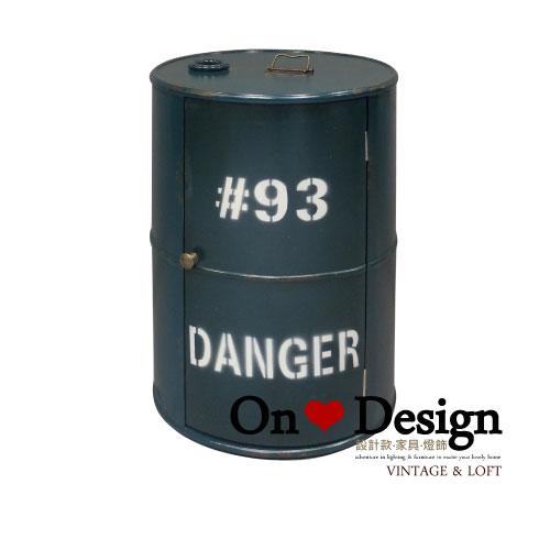On ♥ Design ❀ LOFT 工業家具 RH風格 汽油桶 收納櫃 A款 綠色