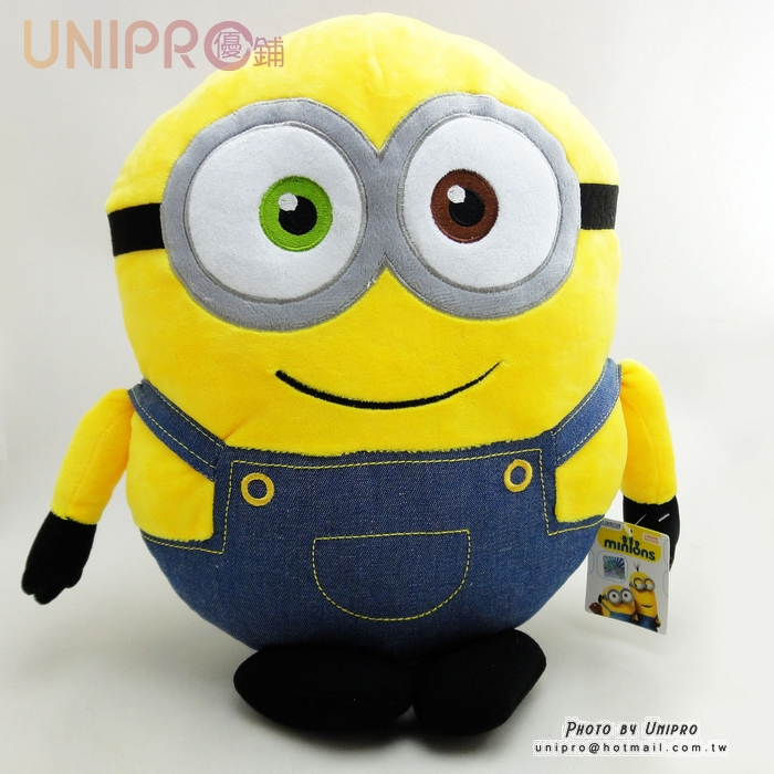 【UNIPRO】小小兵 Minions 蘿蔔 BOB 12吋 絨毛玩偶 娃娃 正版授權 神偷奶爸