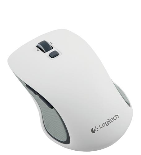 Logitech 羅技 M560 無線滑鼠 【白色】 支援WIN8 全尺寸外型 舒適設計
