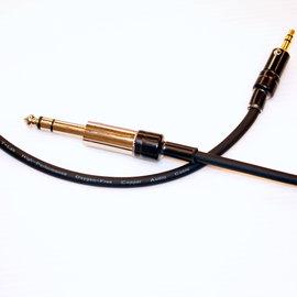 志達電子 CAB087 T-LAB 音頻線 立體6.3mm to 立體3.5mm 轉接線 philips X1 耳機升級線