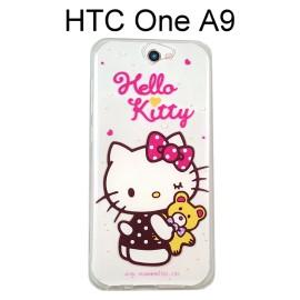 Hello Kitty 透明軟殼 [心媚] HTC One A9【三麗鷗正版授權】