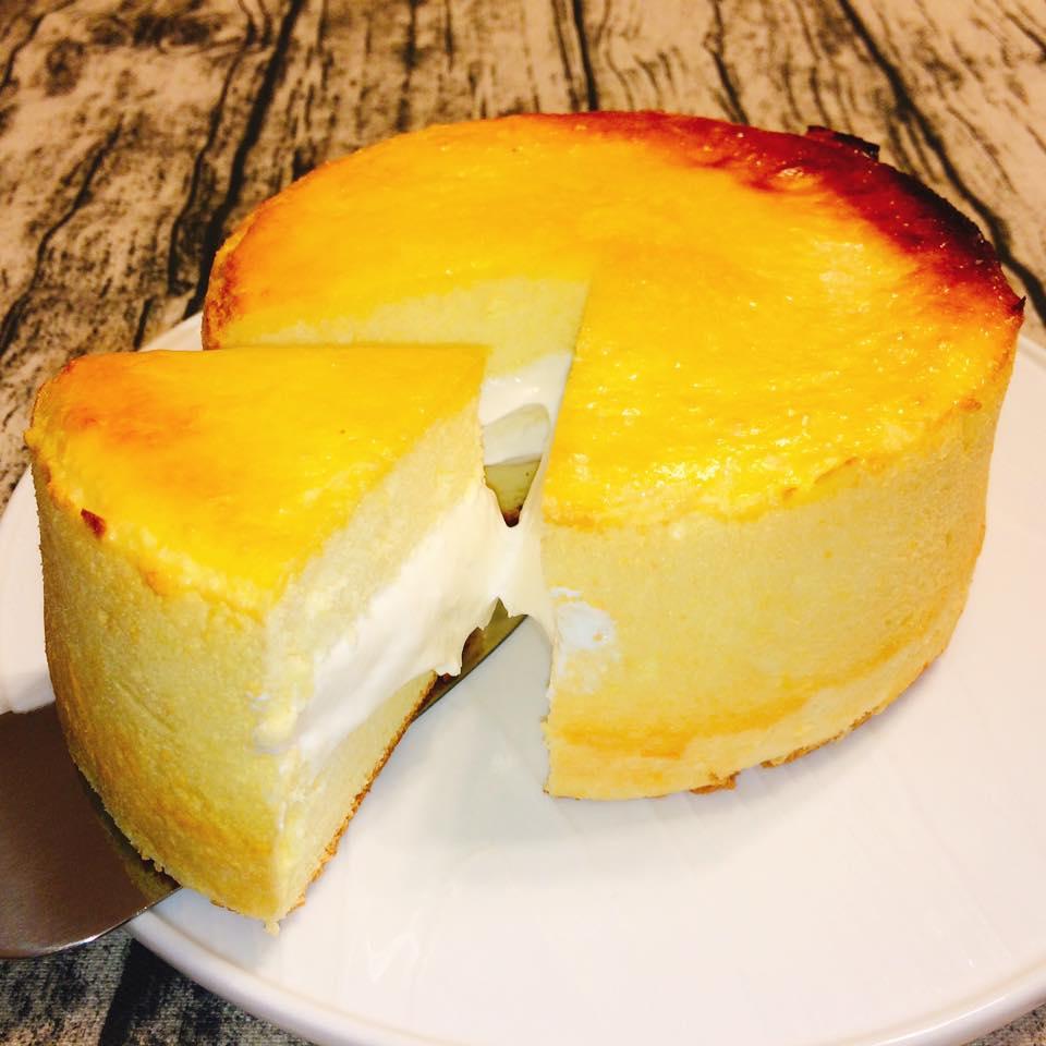 人氣美味-黃金生乳酪(6吋)