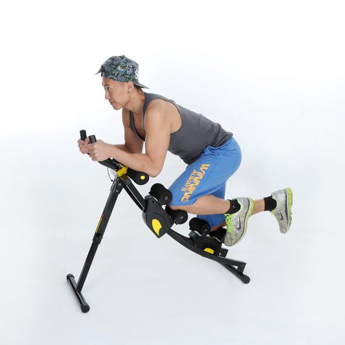 TTG 健腹寶-塑腹機 雙滑座交叉運動機