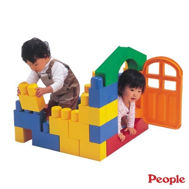 【淘氣寶寶】日本 people 全身體感大積木YG109【親子討論區熱烈反應推薦】