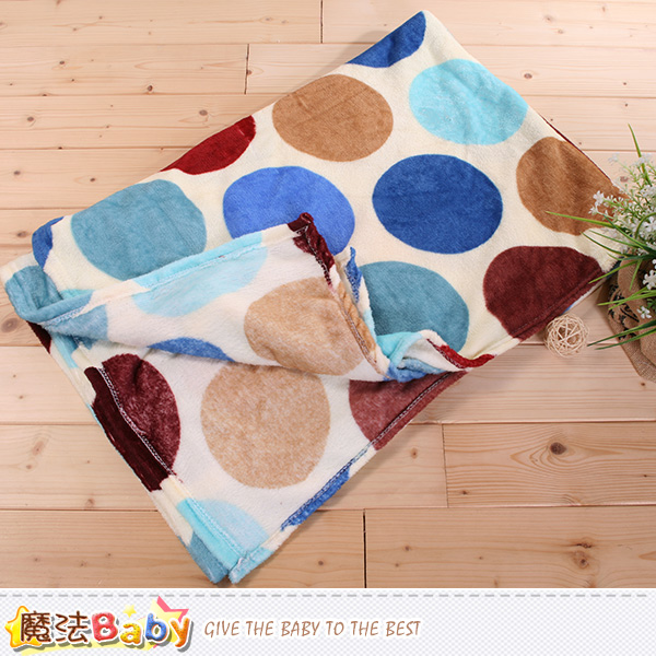 法蘭絨毛毯 140x210cm 四季毯 魔法Baby~w61011