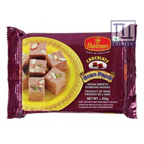 Soan Papdi ( Chocolate) 印度酥糖  (巧克力口味)
