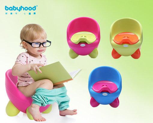 Babyhood超可愛QQ兒童兒童學習便器(顏色隨機)