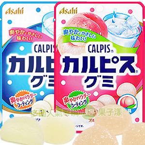 日本Asahi朝日 可爾必思軟糖 (原味/白桃味) [JP435]