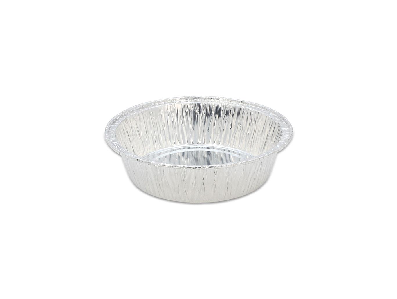 鋁箔容器、錫箔、烤模、 4吋蛋糕模、圓形 426 (100pcs/包)(透明蓋)