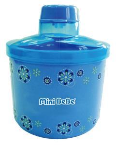 【蜜妮寶貝嬰童用品館】超大容量三叉奶粉盒 紅/藍