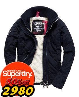 【女款】歲末出清極度乾燥Superdry連帽防風衣夾克風衣保暖外套三拉鍊黑白/海軍藍
