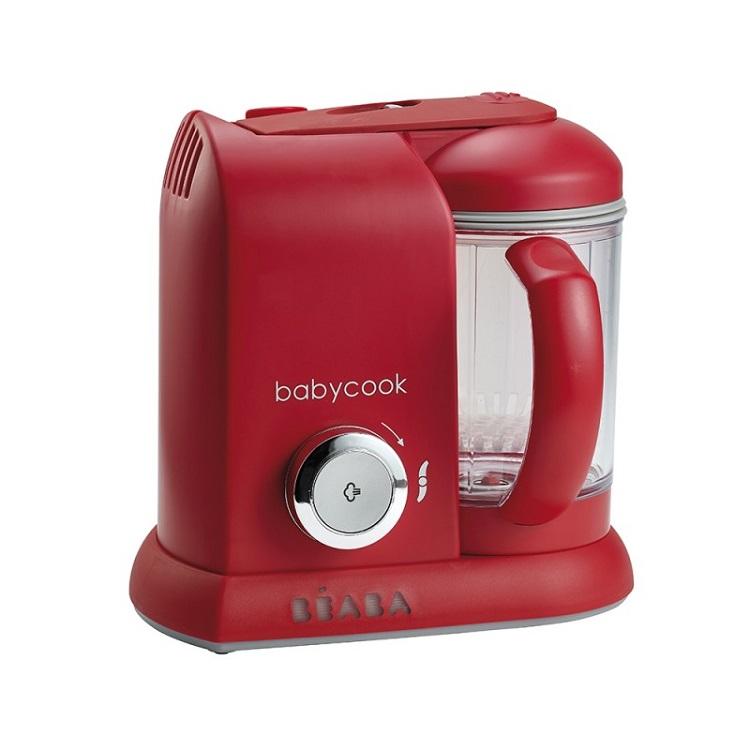 BEABA - Babycook Solo 四合一副食品調理機 -時尚紅 (附官方代理奇哥保證卡)