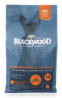 WDJ推薦 Blackwood 柏萊富天然寵糧 室內貓全齡優活配方(雞肉+糙米) 1LB/1磅