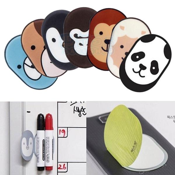 韓國 Fixit 多功能造型手機貼 萬用貼 隨意貼 置物貼 (45x65mm)【【巴布百貨】