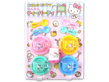 【真愛日本】16012000007  玩具下午茶 KITTY 凱蒂貓 三麗鷗 扮家家酒 兒童玩具 遊戲 下午茶玩具