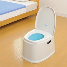 【銀元氣屋】日本進口  座椅式輕便馬桶