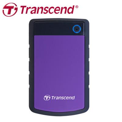 創見 Transcend 外接式硬碟 H3P 1TB USB3.0 紫色 / 個
