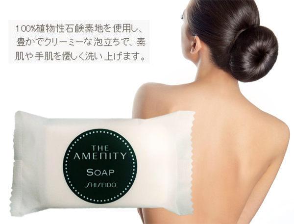 加大容量 SHISEIDO 資生堂 泡泡洗顏沐浴皂(25g)【巴布百貨】