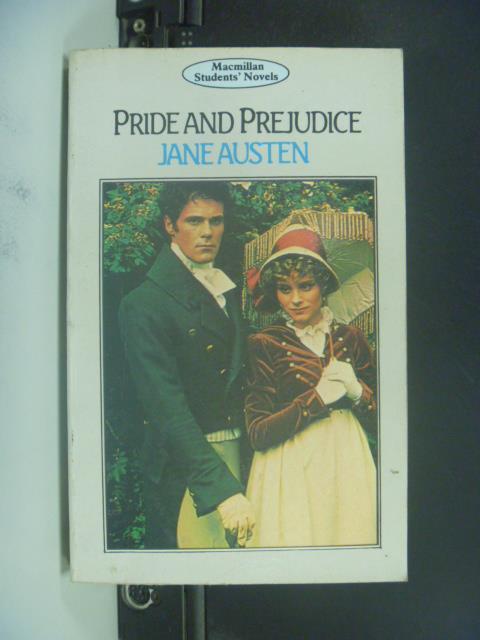 【書寶二手書T7/原文小說_OGU】Pride And Prejudice傲慢與偏見_Jane Austen